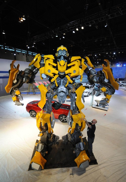 Autobot Assembling at Chicago Auto Show